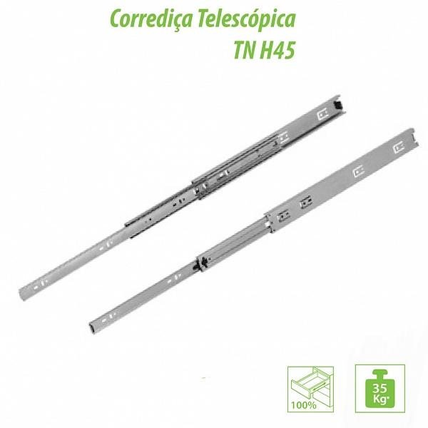 TRILHO TELESCÓPICO TN H45